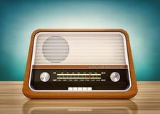 Uitstekende radio royalty-vrije illustratie