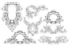 Uitstekende reeks Royalty-vrije Illustratie