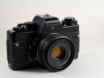 Uitstekende reflexfilmcamera Stock Fotografie