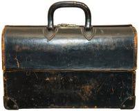 Uitstekende Retro Arts Bag Isolated Stock Afbeeldingen