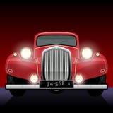 Uitstekende, retro auto Royalty-vrije Stock Foto