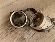 Uitstekende retro beschermende brillen Royalty-vrije Stock Foto's