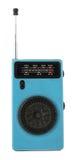 Uitstekende retro draagbare radio Stock Foto