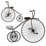 Uitstekende retro fiets royalty-vrije illustratie