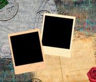 Uitstekende retro frames Stock Afbeelding