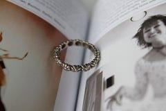 Uitstekende ring Royalty-vrije Stock Foto's