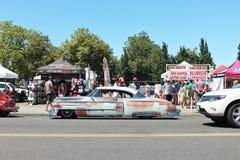 Uitstekende roestige auto Royalty-vrije Stock Fotografie