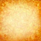 Uitstekende romantische oranjegele achtergrond Stock Afbeelding