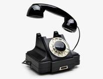 Uitstekende roterende telefoon Stock Foto