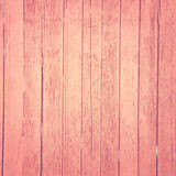 Uitstekende roze houten achtergrond Royalty-vrije Stock Fotografie