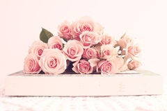 Uitstekende rozen Royalty-vrije Stock Afbeelding