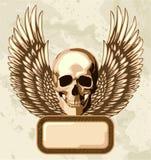 Uitstekende schedel Royalty-vrije Stock Foto