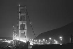 Uitstekende schoonheid San Francisco Bridge Royalty-vrije Stock Afbeeldingen