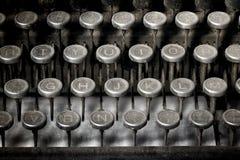 Uitstekende schrijfmachine Stock Fotografie