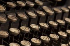 Uitstekende schrijfmachine Royalty-vrije Stock Afbeeldingen