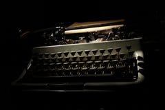 Uitstekende Schrijfmachine Stock Foto