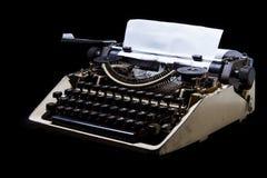 Uitstekende Schrijfmachine met Thais alfabet royalty-vrije stock afbeeldingen