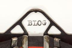 Uitstekende schrijfmachineclose-up Stock Afbeeldingen