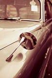 Uitstekende sepia Auto in Close-up Stock Fotografie