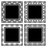 Uitstekende sierkaders vector illustratie