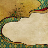 Uitstekende sjofele elegante achtergrond Royalty-vrije Stock Afbeelding