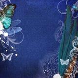 Uitstekende sjofele elegante achtergrond Royalty-vrije Stock Afbeeldingen