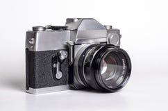 Uitstekende SLR-camera Royalty-vrije Stock Fotografie