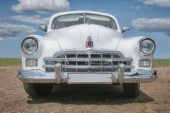 uitstekende Sovjet Russische auto Stock Foto