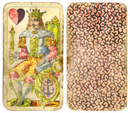 Uitstekende speelkaarten 1 Royalty-vrije Stock Afbeelding