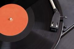 Uitstekende speler met het spinnen van vinyl. Royalty-vrije Stock Foto