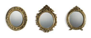 Uitstekende spiegels stock afbeelding