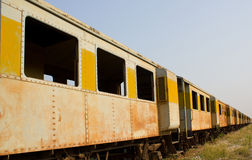 Uitstekende spoorweg Royalty-vrije Stock Foto