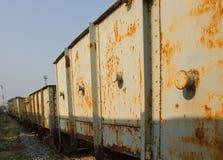 Uitstekende spoorweg Royalty-vrije Stock Afbeelding