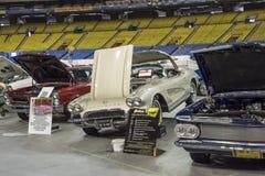 Uitstekende sportwagens Royalty-vrije Stock Foto's