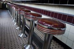 Uitstekende staafstoelen Stock Afbeelding
