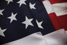 Uitstekende Sterren en Strepenvlag van de V.S. stock foto