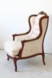 Uitstekende stoel in de ruimte Stock Foto