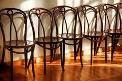Uitstekende stoelen Stock Foto