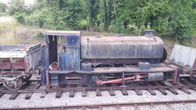 Uitstekende stoommotor Royalty-vrije Stock Afbeeldingen