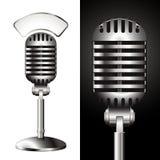 Uitstekende studio mic Royalty-vrije Stock Fotografie
