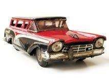 Uitstekende stuk speelgoed auto Stock Fotografie