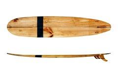 Uitstekende surfplank stock foto