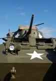 Uitstekende tank Royalty-vrije Stock Foto's