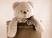 Uitstekende teddybeer Royalty-vrije Stock Foto's