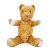 Uitstekende Teddybeer, die uit bereikt Royalty-vrije Stock Foto
