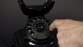 Uitstekende telefoon stock footage
