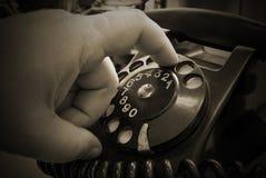 Uitstekende telefoon Stock Foto's