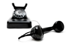 Uitstekende Telefoon Royalty-vrije Stock Afbeeldingen