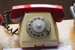 Uitstekende telefoon op de lijst Royalty-vrije Stock Foto