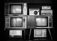 Uitstekende televisie stock afbeelding